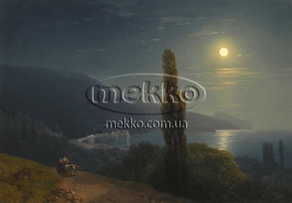 Картина Кримське узбережжя в місячному світлі, І.К. Айвазовський  Київ