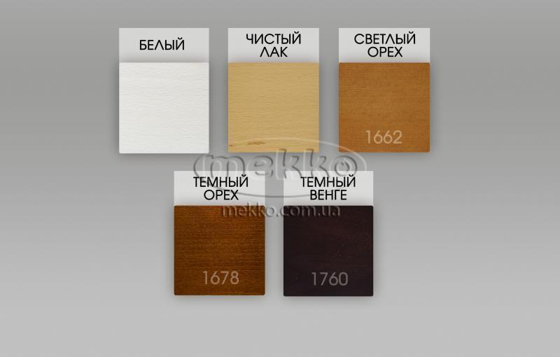 Ліжко Фаджио (масив бука /масив дуба) T.Q.Project  Київ-5