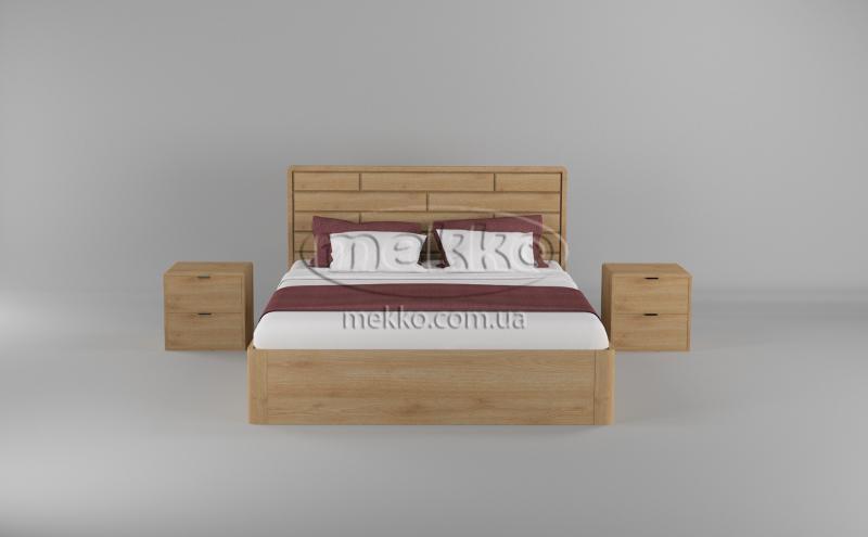 Ліжко Лауро з Підйомником (масив бука /масив дуба) T.Q.Project  Київ-4