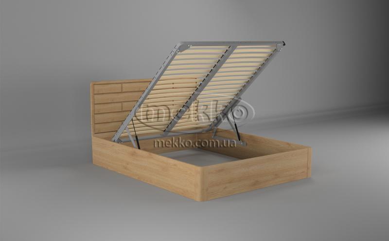 Ліжко Лауро з Підйомником (масив бука /масив дуба) T.Q.Project  Київ-2